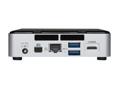 Intel NUC Kit Rock Canyon, UCFF, Core i3 5010U / 2.1 GHz, DDR3L, M.2, Intel HD 5500