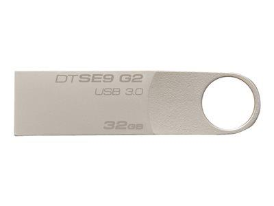 Kingston DataTraveler SE9 G2 - USB flash drive - 32 GB - USB 3.0
