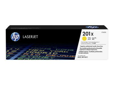 HP 201X High Yield Yellow Original Toner Cartridge
