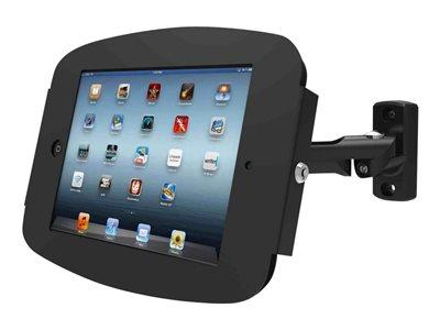Maclocks iPad Space Enclosure with Swing Arm Wall Mount - Black
