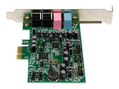 StarTech.com 7.1 Channel PCIe Sound Card