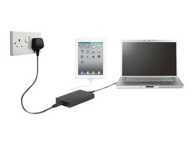 Targus Compact Laptop and Tablet USB Charger - UK