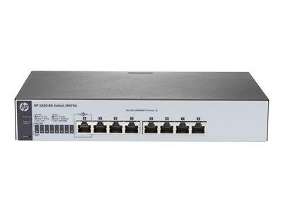HPE HP 1820-8G Switch 8 ports Managed Desktop/Rack-Mountable