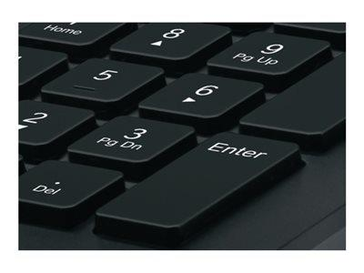 Logitech Corded Keyboard K280e Swiss layout