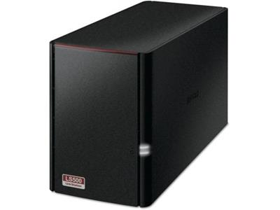 Buffalo LinkStation 520 NAS 4TB (2x2TB) 2-bay High Speed NAS