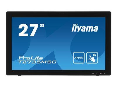 "iiyama ProLite T2735MSC-B2 27"" 1920x1080 5ms VGA DVI HDMI Touchscreen LED Monitor"