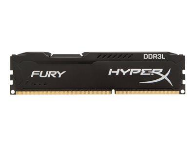 HyperX FURY Black 4GB DDR3L 1866MHz CL11 DIMM Memory