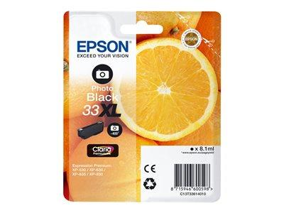 Epson XP530/630/635/830 Photo Ink Cartridge Black
