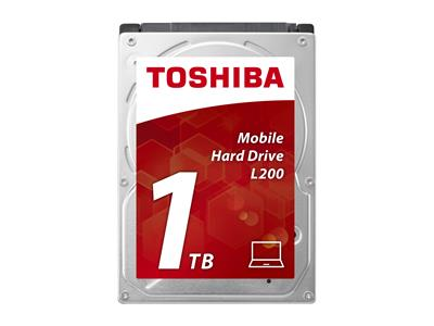 "Toshiba L200 1TB 2.5"" 5400rpm 8MB SATA Internal HDD"
