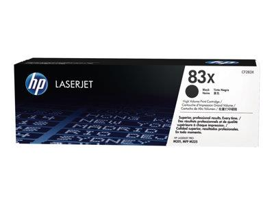 HP 83X Black LaserJet Toner Cartridge