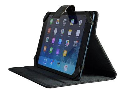 Techair Universal Flip Cover for Tablets - Black