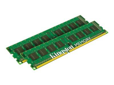 Kingston ValueRAM DDR3L 8GB (2x4GB) DIMM 240-pin 1600 MHz/PC3L-12800 CL11 1.35/1.5V unbuffered