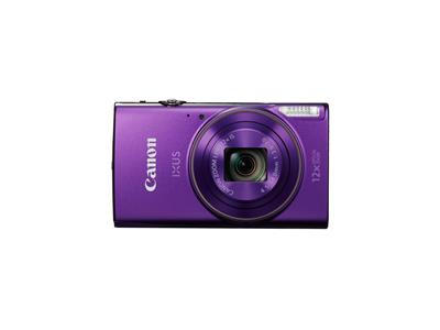Canon IXUS 285 HS Camera Purple 20.2MP 12x Zoom FHD 25mm Wide WiFi