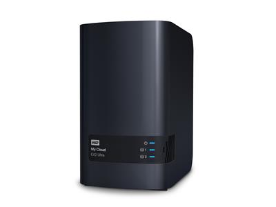 WD 12TB My Cloud EX2 Ultra (2x6TB WD Red) 2bay 1GB DDR3 NAS