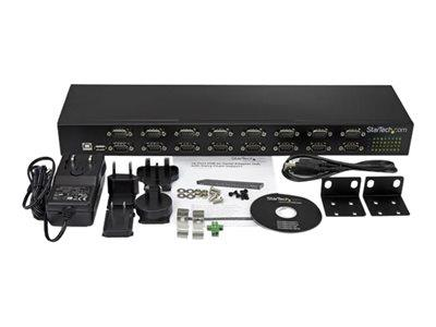 StarTech.com 16-Port USB-Serial Adapter Hub
