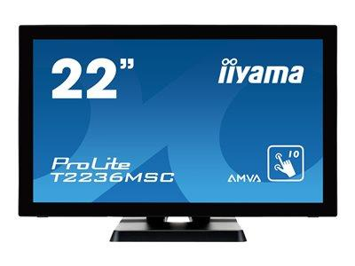"iiyama ProLite T2236MSC-B2 LED 22""  t/screen 1920x 1080 Full HD"