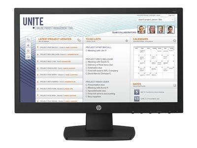 "HP v196 18.5"" LED Monitor 1366x768"