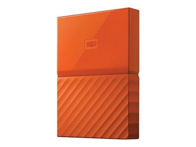 "WD 1TB My Passport 2.5"" USB 3.0 Portable Hard Drive - Orange"