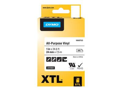 DYMO XTL All-Purpose Permanent Adhesive Indoor/Outdoor Vinyl Tape
