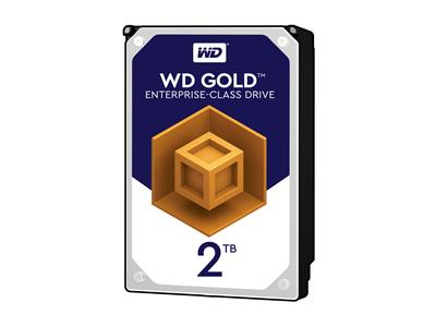 "WD 2TB Gold Datacenter 7200RPM SATA 6Gb/s 3.5"" Hard Drive"
