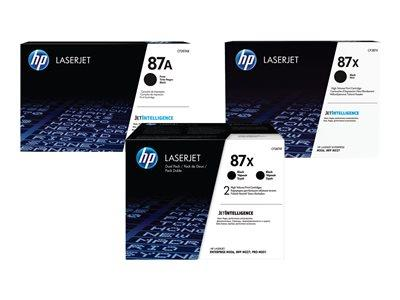 HP 87X HY Original LaserJet 2pk Black