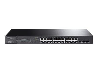 TP LINK JetStream 24-Port Gigabit Smart PoE Switch