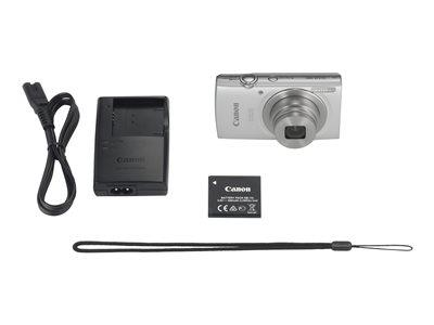 Canon IXUS 185 Camera Silver 20MP 8x Zoom HD