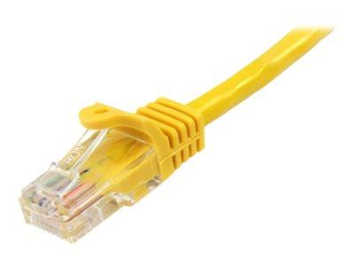 StarTech.com 10m Yellow Cat5e Patch Cable