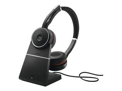 Jabra Evolve 75 Stereo MS Wireless Headset and Charging Stand