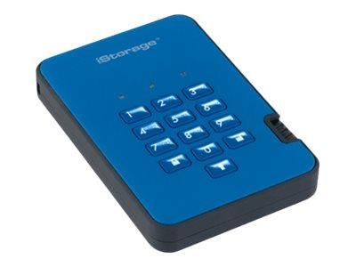 istorage diskAshur2 256-bit 500GB - Blue
