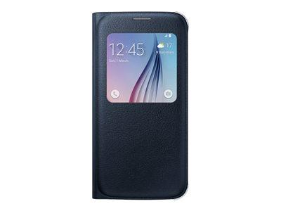 Samsung Galaxy S6 Screen View Cover (PU) Black