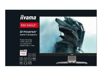 "iiyama G-Master GB2760QSU-B1 27"" 2560x1440 1ms VGA HDMI Height Adjusable"