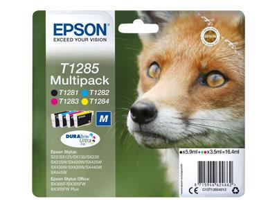 Epson T1285 Multipack 4pack  black, yellow, cyan, magenta original