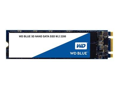 WD 500GB Blue 3D NAND SATA 6GB/s M.2 2280 SSD