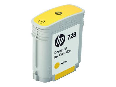 HP 728 40-ML Yellow DesignJet Ink Catridge