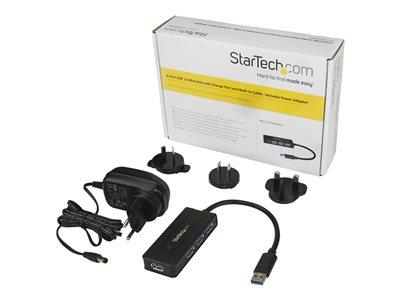 StarTech.com 4PT USB 3.0 Hub - Charge Port