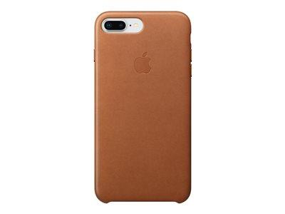 Apple iPhone 8 Plus / 7 Plus Leather Case - Saddle Brown