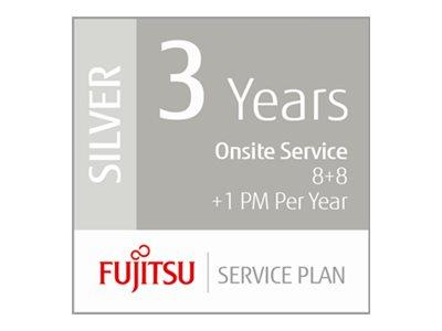 Fujitsu Extends Warranty 3 Years with Low Volume Production Scanners -  8+8hrs On-Site 1 x PM