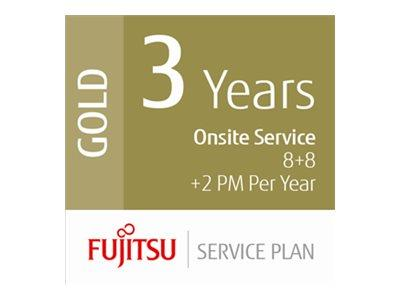 Fujitsu Extends Warranty 3 Years Low Volume Prodcution Scanners - 8hrs On-Site 8hrs Fix 2 xPM