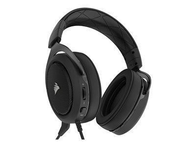 Corsair HS50 Stereo Gaming Headset Carbon - PC/Console