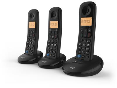 BT Everyday Phone with Answer Machine - Three Handsets