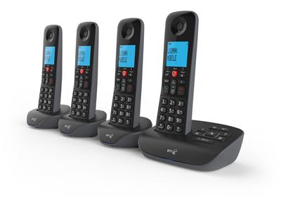 BT Essential Phone - Four Handsets