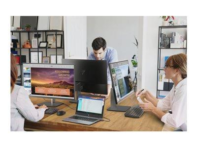 "HP EliteDisplay E243m 23.8"" HD 5ms IPS Monitor"