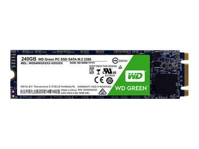 "WD 240GB Green SATA 6Gb/s 2.5"" SSD M.2 2280"