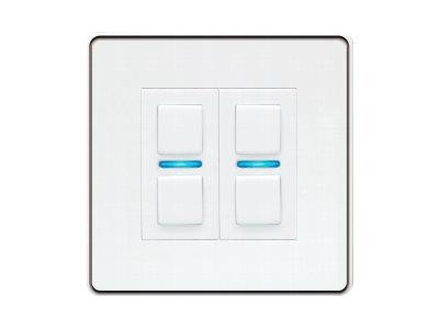 LightwaveRF Gen 2 Smart Dimmer 2 Gang - White