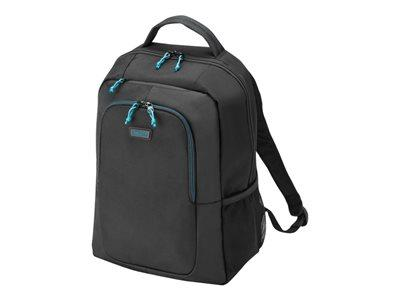 "Dicota Backpack Spin 14-15.6"" - Black"