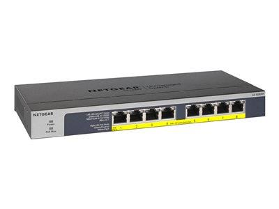 NETGEAR 8-port POE+ Gigabit Unmanaged Switch