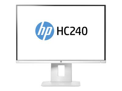"HP Healthcare Edition HC240 24"" 1920x1200 8ms DVI HDMI DisplayPort LED Monitor"