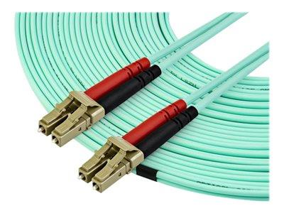 StarTech.com 15m OM3 LC to LC Multimode Duplex Fiber Optic Patch Cable
