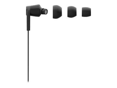 Belkin ROCKSTAR USB-C In-Ear Headphone - Black